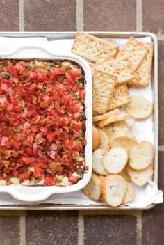 Backfield BLT Dip. I don't know Missy's recipe, but this will do for now ;]