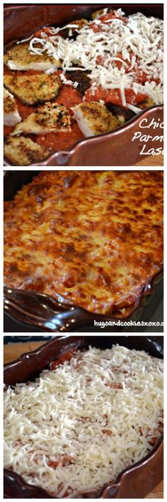 CHICKEN PARMIGIANA LASAGNA - Hugs and Cookies XOXO
