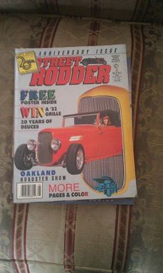 Our item, STREET RODDER MAY 1992, is available.  Click image to buy. ($33.99)