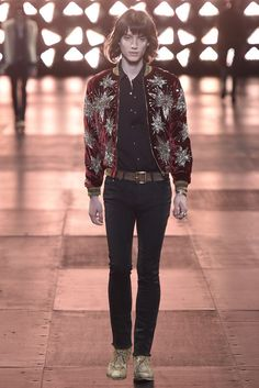 Saint Laurent Men's RTW Spring 2015 - Slideshow