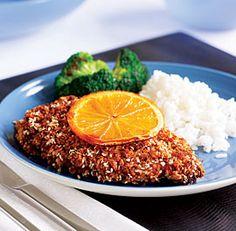Crispy Orange-Sesame Chicken Breasts Recipe