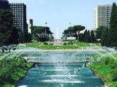 L'acqua è vita... famole scroscià ste fontane... #laghetto #eur #roma  Ph #PietrangeloMassaro World History, Marina Bay Sands, Ph, Building, Places, Outdoor Decor, Travel, Beauty, Rome