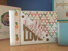 mini album scrapbooking - tutorial album de verano - YouTube