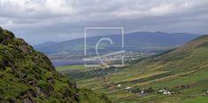grüne Insel Irland Run Around, Community, Mountains, Canvas, Frame, Nature, Ireland, Island, Landscape