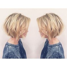 Layered, Short Bob Haircut – Balayage Short Hairstyles