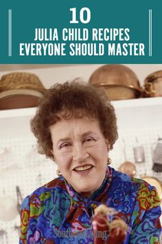 Once you ve rewatched all the episodes of The French Chef it s time to get into the kitchen and recreate some of Child s classic recipes These are in our opinion the 10 essential Julia Child recipes you should know French Dishes, French Food, The French Chef, French Desserts, Ic Recipes, Kitchen Recipes, Dinner Recipes, French Cooking Recipes, Traditional French Recipes