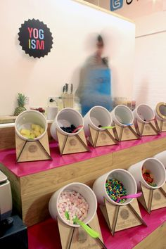 Yogism Frozen Yogurt by Notion Design, Dublin store design hotels and restaurants branding