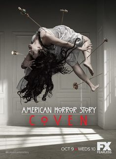 Looking some cool posters from your favorite TV series American Horror Story? Check out the best collection of American Horror Story poster collection here. American Horror Story Coven, American Crime Story, Evan Peters, Blu Ray, New Poster, Film Serie, Cultura Pop, Vizsla, Horror Movies
