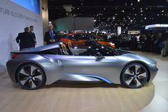 2012 BMW i8 Concept Spyder.  Ahhh German engineering.