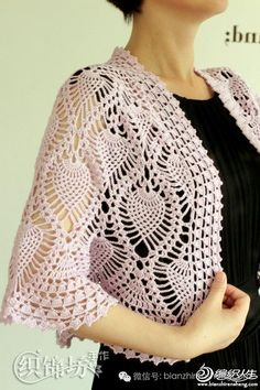 For Beginners Shawl crochet bolero pattern pdf chart diagrams Crochet Bolero Pattern, Col Crochet, Gilet Crochet, Crochet Cardigan, Crochet Blanket Patterns, Crochet Jacket, Crochet Shawl, Crochet Collar, Crochet Sweaters