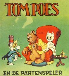 Amsterdam Book Auctions Lot #: 2504 [Comic books] Tom Poes en de Partenspeler Marten Toonder (1912-2005) Amsterdam De Muinck 1952