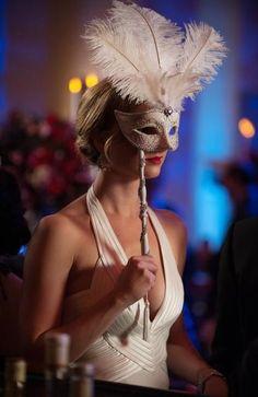 "Emily VanCamp as Emily Thorne - ""Masquerade"", Revenge Revenge Season 2, Revenge Abc, Revenge Tv Show, Emily Revenge, Masquerade Wedding, Masquerade Ball, Gossip Girl, Sweet Sixteen, Emily Thorne"