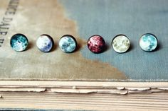 These wooden moon earrings: | 29 Stellar Accessories That Any Outer-Space Lover Will Want