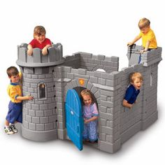 LIttle Tikes Classic Castle! We have tons of little tikes play houses etc but this is the house favorite by far!!!