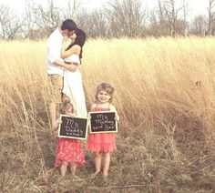 Engagement picture with the kids! Blended family :)