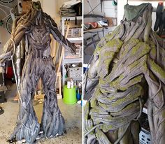 DIY Groot-awesome. Might be difficult to match this!