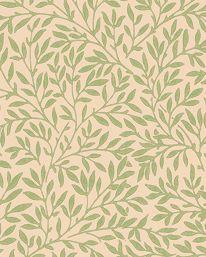 Our bedroom wallpaper-William Morris Standen Light Green