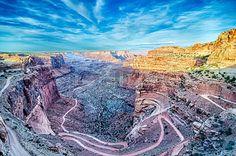 White rim road - Canyonlands National park Utah | Stock Photo | Colourbox on Colourbox