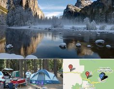 Must Visit Campground: Wawona Campground (Yosemite National Park, Sierra Nevada, East-Central California)