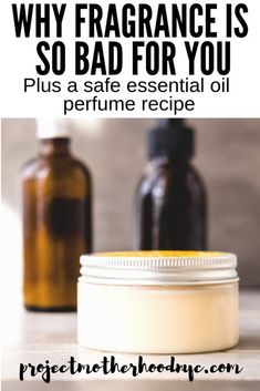 If you're working hard to eliminate fragrance from your life, you probably miss it with perfume. This essential oil perfume recipe is safe, natural, and smells amazing! Essential Oil Scents, Essential Oil Perfume, Perfume Oils, How To Make Homemade Perfume, Perfume Recipes, Perfume Making, Handmade Cosmetics, Sweet Almond Oil, Lavender
