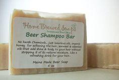 Beer Shampoo Bar Shampoo by HomeBrewedSoaps on Etsy, $7.00