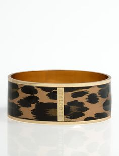 Talbots - Leopard Enamel Bangle | Bracelets |