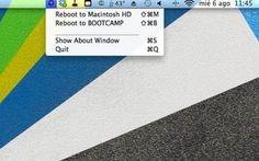 RebootToHDD, come spostarsi velocemente tra le partizioni del Mac #mac #partizioni #reboot