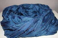 Large Blue Shawl by ainsliee on Etsy