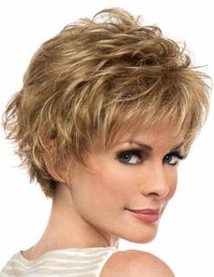 Marita Wig by Envy is bold, texturized styling at its finest. Feathered layers give this wig a voluminous look that can be styled sleek or spiky, depending on the mood and occasion. The Mono Top construction is designed to imitate your natural scalp, offering the most realistic appearance available.  Additionally, the monofilament top offers exceptional comfort along with parting and styling flexibility.