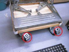 Workmate™ on Wheels / Mon Workmate™ sur roues | Atelier du Bricoleur (menuiserie)…..…… Woodworking Hobbyist's Workshop