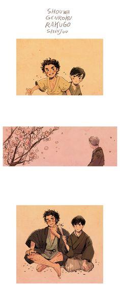 shouwa genroku rakugo shinjuu is my favorite anime this season (honestly one of my favorites in a long time).
