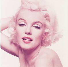 Marilyn Monroe photographed by Bert Stern.