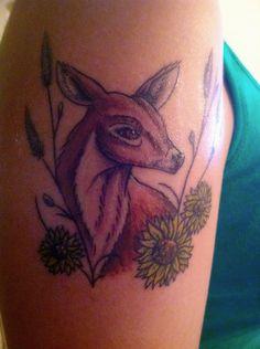 Tattoo dear flowers