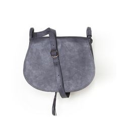 Women Leather Bag Gray Cross Body Leather Bag by MatkaShop on Etsy, $208.00