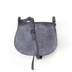 Women #Leather Bag #Gray #CrossBody #Leather_Bag