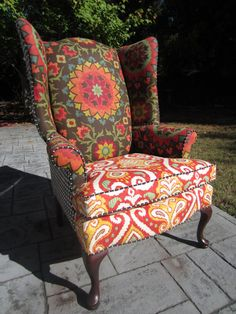Accent Chair - Midnight Summer  crazy ideas for painting