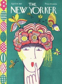 The New Yorker is known for its great illustrated covers. Check out some fabulous old New Yorker covers that look like they haven't aged a year. The New Yorker, New Yorker Covers, Graphic Design Posters, Graphic Design Typography, Graphic Design Illustration, Vintage Book Covers, Vintage Magazines, Vintage Photos, Thing 1