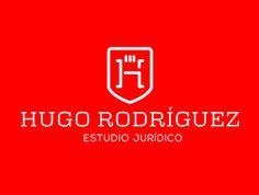 HR Hugo Rodríguez #logo and Identity by David Espinosa IDS