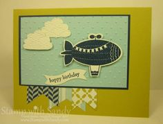 Moving Forward Birthday by stampwithsandy - Cards and Paper Crafts at Splitcoaststampers