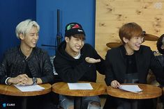 Minhyuk, Hyunsik, Eukwang, BTOB THE BEAT Episode 6.