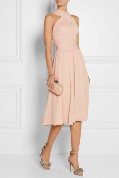 jason wu - silk chiffon dress