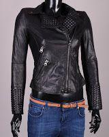 Geaca piele Z (Zara) Zara, Leather Jacket, Fashion, Studded Leather Jacket, Moda, La Mode, Leather Jackets, Fasion, Fashion Models