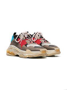 1baf8a98ee14c Balenciaga Multicoloured Triple S Sneaker