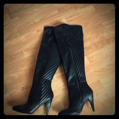 Like New Thigh High Boots Never Worn Outside. Only in House. Rue 21 Shoes Over the Knee Boots