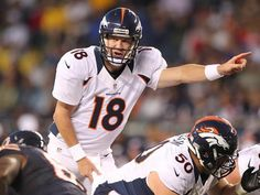 Peyton Manning debuts in first preseason game as a Denver Bronco