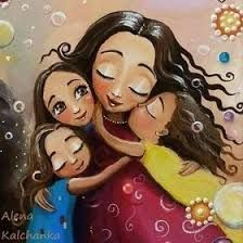 fotos madres e hijas ideas fotografia Mother Daughter Quotes, Mother Art, Mother And Child, Art Deco Artists, Love My Kids, Popular Art, Baby Art, Love Painting, Mothers Love