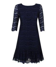 Look what I found on #zulily! Navy Alma Dress #zulilyfinds
