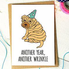 Funny Birthday Card  Friend Birthday Card  by FinchandtheFallow