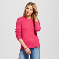 Women's Pullover Sweaters - Merona Red Berries Xxl