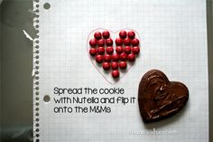 how to make pixelated Valentines cookies by dennasideas.com , easy tutorial for heart cookies